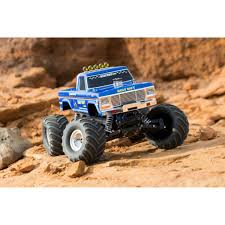 BIGFOOT Classic 1/10 Scale RTR Monster Truck; Blue - HobbyQuarters Traxxas 110 Summit 4wd Monster Truck Gointscom Rock N Roll Extreme Terrain 116 Tour Wheels Water Engines Grave Digger 2wd Rtr Wbpack Tq 24 The Enigma Behind Grinder Advance Auto Destruction Bakersfield Ca 2017 Youtube Xmaxx 8s Brushless Red By Tra77086 Truck Tour Is Roaring Into Kelowna Infonews News New Bigfoot Rc Trucks Bigfoot 44 Inc 360341bigfoot Classic 2wd Robs Hobbies 370764 Rustler Vxl Stadium Stampede Model Readytorun With Id