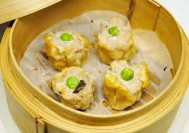 cuisine asiatique vapeur raviolis vapeur au porc siu mao bild wok cuisine asiatique