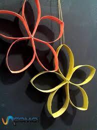 faire des fleurs avec des de papier toilette