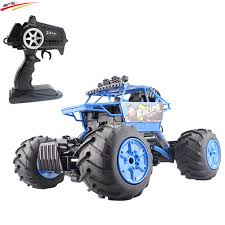 100 Rock Crawler Rc Trucks RC Car Amphibious Car 4WD 24G Dual Motor Waterproof