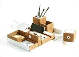 objet de bureau bureau original pas cher accessoire de bureau accessoires en liege