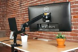 desk adjustable monitor arms desk mount computer monitor arms