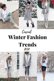 Casual Winter Fashion Trends 2018
