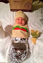 Chipotle Halloween Special 2015 by Baby Burrito Chipotle Costume Best Halloween Costumes For Kids