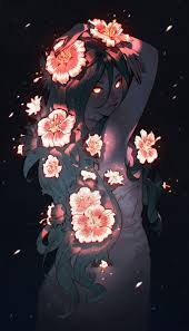 Night Flower By Nakanoart Featured On Cyrail Inspiring Artworks That Make Your Day Better