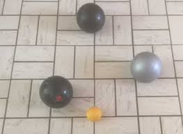 boules d intérieur pour jouer à la pétanque molle