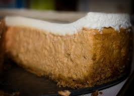 Pumpkin Cheesecake Gingersnap Crust Bon Appetit by Bon Appetit U2013 Bakerlady