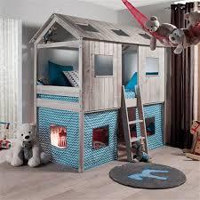 chambre enfant cabane lit cabane dans une chambre d enfant envie 2 deco boutique et