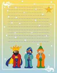 Carta A Los Reyes Magos De HopToys Con Pictogramas Ideal Para