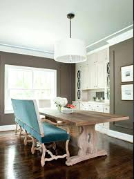 Dining Room Table With Bench Seat Back For Minimalist In Remodel