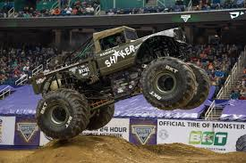 100 Monster Trucks Atlanta Jam Trucks Fly High At The BJCC Legacy Arena This Weekend