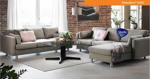 Ergonomic Living Room Furniture by Ekornes Stressless E600 Sofa Ekornes Stressless E600 Sofa