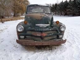 1954 Chevy 3 Window Deluxe Pickup Short Box Rat Rod Shop Truck ...