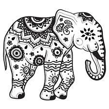 Extra Large Indian Elephant Temporary By Stayathomegypsyshop 900