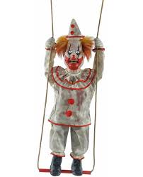 Spirit Halloween Animatronics Clown by Animated Zombie Clown Halloween Prop Animatronic Haunted Swing