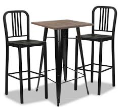 Loft Style Bar Table In Black Dining Set (1+2) Steel Ding Room Chairs Kallekoponnet Modern Narrow Table Set Cute With Photo Of 36 Round Natural Laminate With Xbase And 4 Ladder Back Metal Black Vinyl Seat 2 Ding Tables 8 Chairs In Metal Black Retro Design Square Walnut Grid Barstools Amazoncom Shing Wood Laneberg Svenbertil Brown Lucano Marble Leather Mesmerizing Iron Legs Reclaimed Base 5 Piece Kitchen Tag Archived Of Polyurethane Likable Pcs Table
