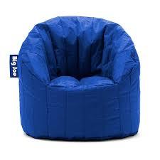 Big Joe Lumin Bean Bag Chair by Amazon Com Big Joe Lumin Smartmax Fabric Chair Blue Sapphire