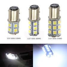 high quality 1157 bay15d 13smd 18smd 27smd 5050 led replacement