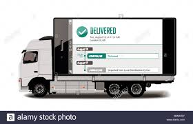 Truck - Tracking System - Packages Delivery Concept Stock Vector Art ... Sallite Tracking And Fleet Monitoring Gps Tracker Onlinecctv Surveillance Security Camera Solutions For Your Car Van Or Fleet My Car China Cheap Device Carvehilcetruck M558 Coastal Hire How To Install Vehicle Devices Step By Install Trackers For Business Best 2017 Tk 103a Gsm Sms Gprs 3pcslot Rhofleettracking Trailer Asset System Gmeo Informatics Blog