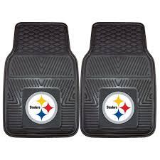 FANMATS Pittsburgh Steelers 18 In. X 27 In. 2-Piece Heavy Duty Vinyl ...
