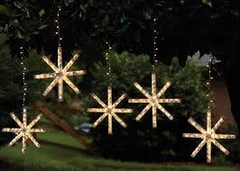 Outdoor Snowflake Lights String — All About Home Design Colorful