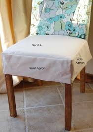 Chair Seat Covers On Ana White Build A Drop Cloth Parson Slipcovers Free And Easy