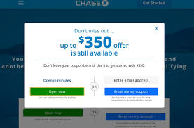Great Offer! Get Up To $350 When You Open A New Chase ... Roundup Of Bank Bonuses 750 At Huntington 200 From Chase Total Checking Coupon Code 100 And Account Review Expired Targeting Some Ink Cardholders With 300 Brighton Park Community Bonus 300 Promotion Palisades Credit Union Referral 50 New Is It A Trap Offering Just To Open Checking Promo Codes 350 500 625 Business Get With 600 And Savings Accounts Handcurated List The Best Sign Up In 2019 Promotions Virginia