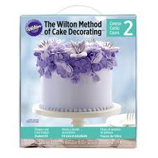 Cake Decorating Books For Beginners by Wilton Course Kits