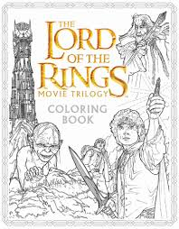 The Lord Of Rings Movie Trilogy Coloring Book