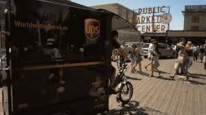 100 Ups Truck Dimensions UPS Is Experimenting With Delivering Packages By Ebike
