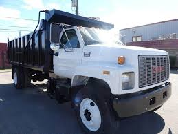 100 Single Axle Dump Truck 2000 GMC TopKick C8500 Caterpillar