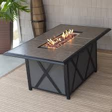 Coffee Table Awesome Outdoor Fire Pit Table Fire Pit Dining