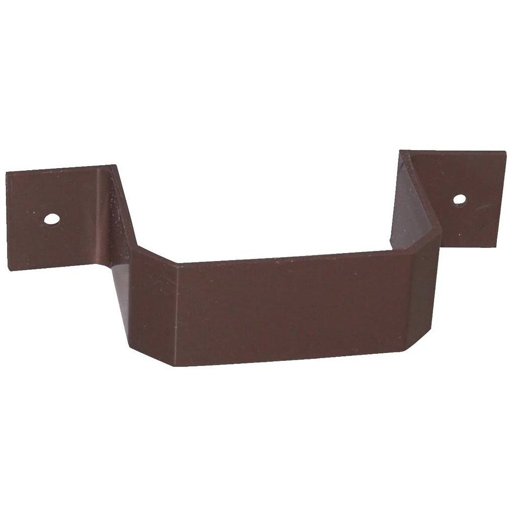 Genova Downspout Bracket - Brown