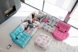 mah jong canapé mah jong style sectional sofa arianne famaliving montreal