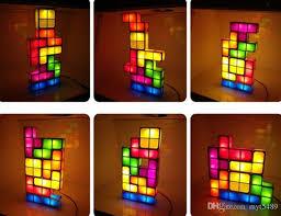 Tetris Stackable Led Desk Lamp India by 2018 Tetris Light Desk Lamp Led Constructible Block Table
