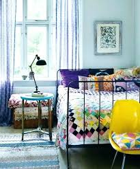 Blue Bohemian Bedroom Whimsical Ideas In And White