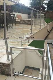 Stainless Steel And Glass Garden Balustrades, Including An Opening ... 24m Decking Handrail Nationwide Delivery 25 Best Powder Coated Metal Fencing Images On Pinterest Wrought Iron Handrails How High Is A Bar Top The Best Bars With View Time Out Sky Awesome Cantilevered Deck And Nautical Railing House Home Interior Stair Railing Or Other Kitchen Modern Garden Ideas Deck Design To Get The Railings Archives Page 6 Of 7 East Coast Fence Exterior Products I Love Balcony Viva Selfwatering Planter Attractive Home Which Designs By Fencesus Also Face Mount Balcony Alinum Railings 4 Cityscape