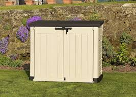 Menards Storage Shed Doors by The Best Plastic Garden Storage Boxes Sheds And Cupboards