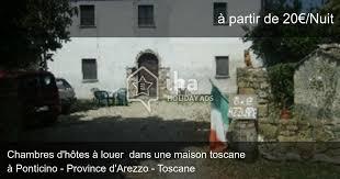chambre d hotes toscane chambres d hôtes à ponticino dans une propriété iha 66115