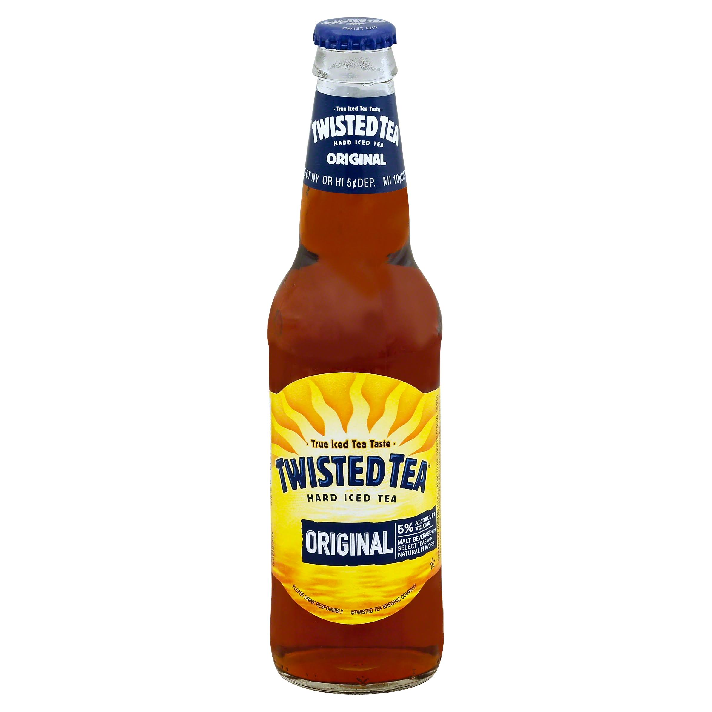 Twisted Tea Hard Iced Tea, Original - 12 fl oz