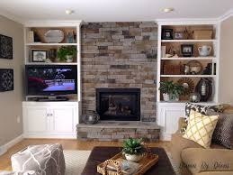 How To Put In A Gas Fireplace by Building A Stone Veneer Fireplace Tips For Design Decisions