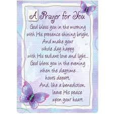 A Prayer For You Pocket Card