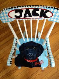 Custom Black Labrador Personalized Rocking Chair By Charming ... Personalized Baby Girl Giftrocking Horse Layetteby Silly Phillie Rocking Chairs For Kids New Toddler Chair Ler White My 1st Years Monogrammed Southern Soul Mates Serving Up A Little Wooden Child Modern Awesome Stunning Barstools And Heirloom Boy Or Camo Quilt Your Choice Of Monogram And Trims Etsy Teal Colored Ding Attachment Toddlers 1045 Childs Natural Rocker Childrens Miles Kimball Deep Pink Roses Purple Pumpkin Gifts Contemporary Upholstered