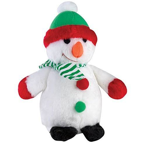 "Zanies Holiday Friends Dog Toys - 9"", Snowman"