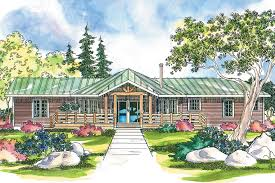 Rustic Lodge Style House Plans Full Size