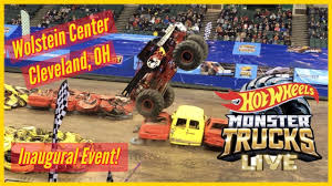 100 Monster Trucks Cleveland Inaugural Hot Wheels LIVE Show In OH See