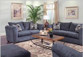 Both Colors Will Make Your Living Room Look Cool And Fresh With The Blue Color