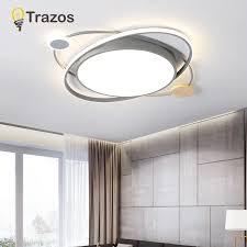 moderne holz led deckenleuchte wohnzimmer kupfer decke lichter schlafzimmer küche leuchten led beleuchtung mit fernbedienung
