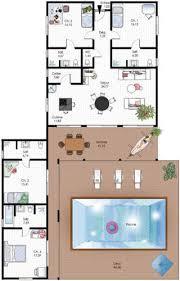 plan maison plain pied 6 chambres plan maison de plain pied 4 chambres 6 maison familiale de