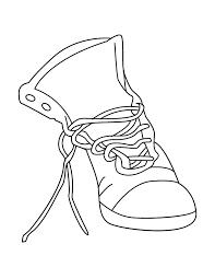 Small Shoes Jordans Coloring Pages